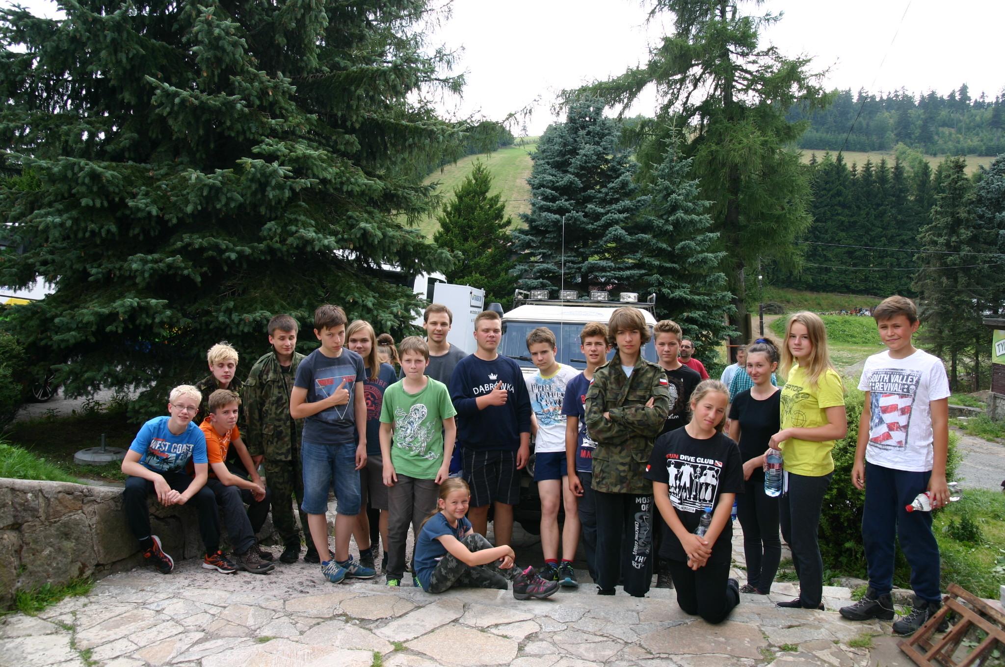 Obóz Rzeczka 2015