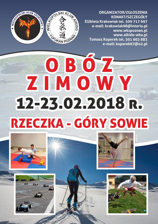 Obóz zimowy w Rzeczce !!!