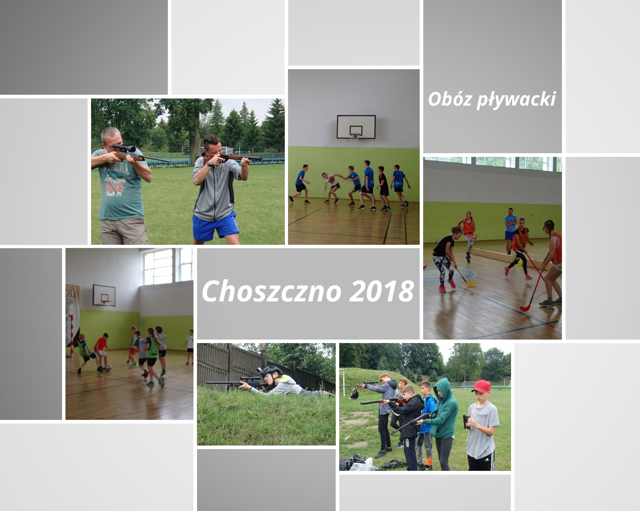 Choszczno 2018 – obóz pływacki rozpoczęty.